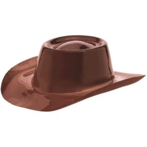 Western Brown Cowboy Hat